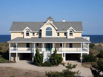 Photo for #413: OCEANFRONT in Corolla w/HtdPool, HotTub & RecRm w/PoolTbl