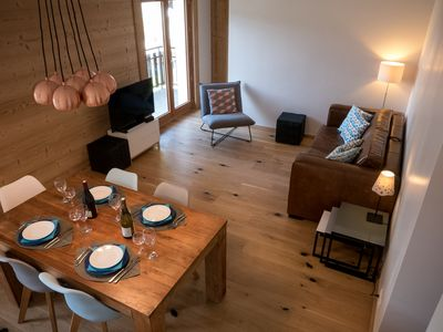 Photo for Newly renovated central Morzine apartment