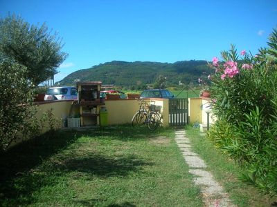Photo for Ameglia: typical house with a beautiful view of the countryside of Ameglia and Montemarcello