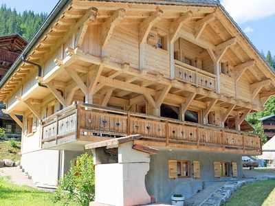 Photo for Supreme Chalet in in Chatel French Alps near Ski Area