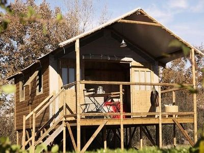 Photo for Camping Le Plô *** - Lodge 3 Rooms 4/6 People
