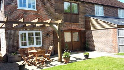 Photo for Ideal for couples or families, a country retreat close to the coast  & Lewes