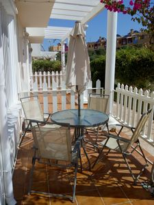 Photo for 2 bed Duplex,Free WiFi,Spain&UKTV,Beach 4 mins walk,Aircon included for Summer