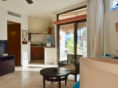 Photo for Amazing, ocean view studio in the heart of Playa del Carmen.