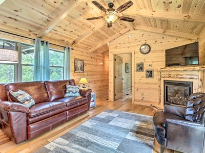 Photo for NEW! Cozy Cabin w/ Hot Tub+Deck in Hocking Hills!