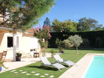 Photo for Gite 35 m2 in Brindas 12 km from Lyon Lyon Lyon in quiet property parking