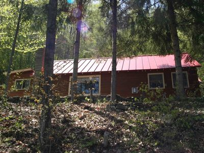 Photo for Lakeview: Comfortable Lakefront Cabin between Okemo & Killington
