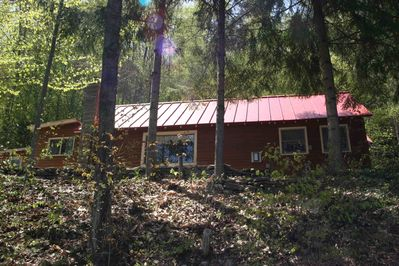 Lakeview Cabin: View from Lake Amherst
