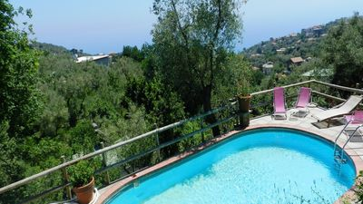 Photo for Pretty Villa Terraros located in a relax position and farmhouse in Sorrentocoast