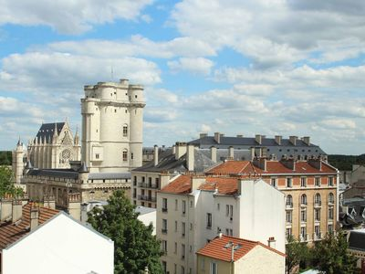 Photo for Magnificent studio with terrace and view of Vincennes