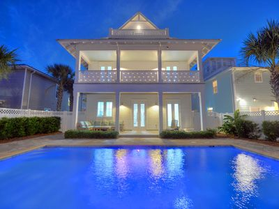 Photo for Reduced Fall Rates!! Luxury Coastal Home, Large Pool, Game Room, Gulf View.