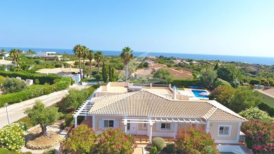 Photo for Quality 4 en-suite 6x A/C'ed 260m² (heated) pool villa,1000m² garden, 24 pics!!