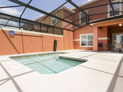 Photo for Lovely 4 bedroom townhome with a private pool in a gated community