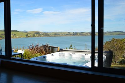 View from kitchen overlooking Mangonui