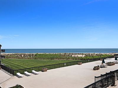 Photo for C210: Updated 3BR Sea Colony Oceanfront condo| Private Beach, Pools, Tennis ...