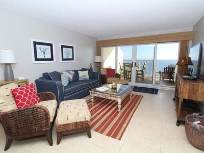 Photo for Sandy Key 822-Beach Front Views from Terrace with Luxurious Interior!