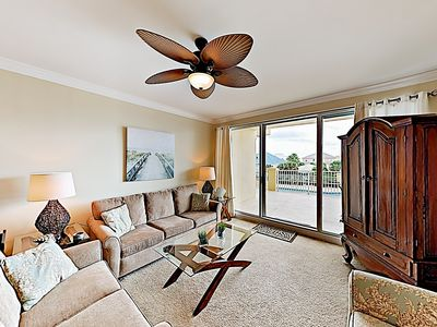 Photo for Close to the Beach, Closer to the Pool – 3BR Indies Condo w/ Rooftop Terrace