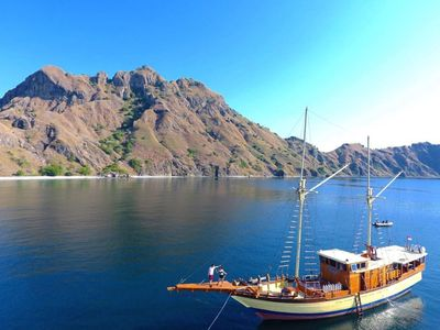 Photo for stay on pirate ship at komodo , Indonesia