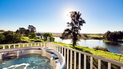 Spa with the best views in the Hawkesbury