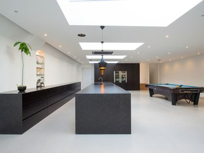 Photo for Luxury Modern London House with Large Spaces, Gym, Cinema, Pool Table, Garden