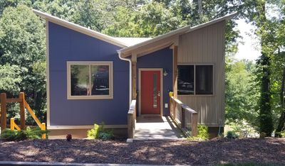 Photo for Downstairs  2 Bedroom Unit in Modern Home, in West Asheville