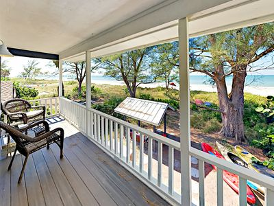 Photo for Professionally Decorated 3BR w/ Patio, Kayaks & Private Path to Beach