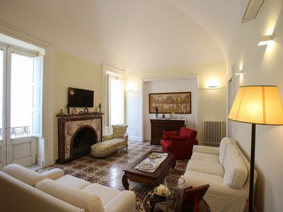 Photo for Luxurious and elegant apartment with terrace in the heart of Lecce