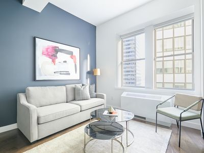 Photo for Sonder | One Platt | Comfortable 1BR + Rooftop