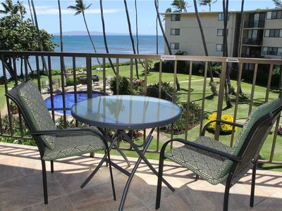 Photo for KAN314 - Maui Ocean View Condo in Quiet Beachfront Resort-Great Views & Value, 2BR/2BA