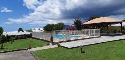 Photo for Charming BOUNTY studio, swimming pool and beaches 2 minutes walk