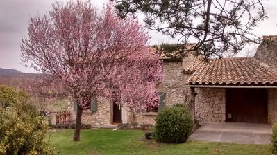 Photo for Small Provencal stone farmhouse in the countryside.