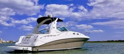 36' Sea Ray Sport Yacht Awaits Your Stay!