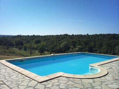 Private pool, overlooking the hidden valley