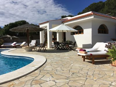 Photo for Villa 1ºQuality in Natural Park, Biliard, Table-Tennis, Jacuzzi, Beaches, Sunset