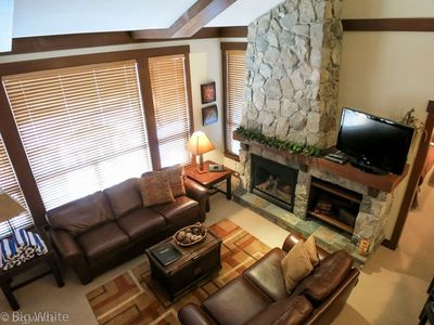 Photo for Ski-In Condo with Private Balcony + Hot Tub | Pool + Gym Access