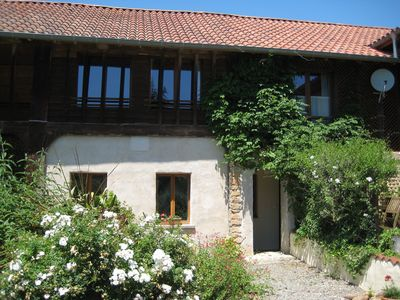 Photo for Renovated barn with pool overlooking the Pyrenees, family & pet friendly