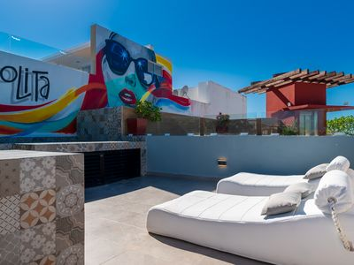 Photo for Exquisite Penthouse in A Prime Downtown Location on 5th Avenue in Playa