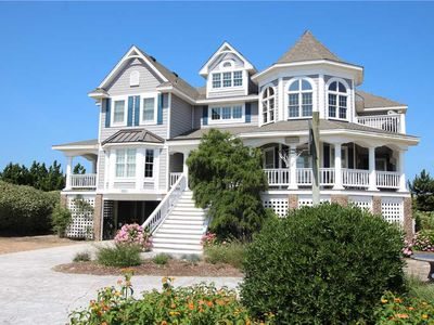 Photo for #PI94: Reduced Rates! OCEANFRONT PineIsland w/HtdPool, HotTub, Elev., RecRm & Thtre
