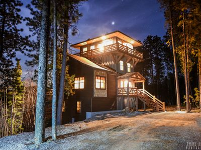 Photo for One of a Kind 4-Level, 5 Bedroom Watchtower Property close to Deadwood!