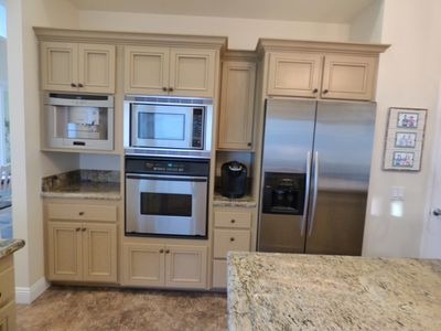 large kitchen with all the amenities you could even imagine