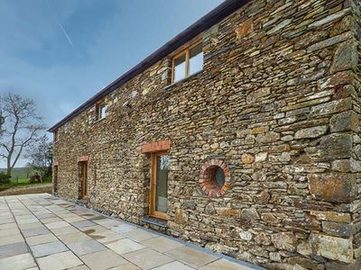 Photo for THE BARN, family friendly, with open fire in St Clears, Ref 917726
