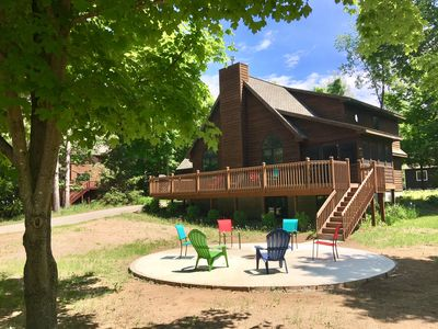 Photo for Big Family-Friendly Home In Crystal Mountain Resort, Walk To Skiing, Golf, Pool