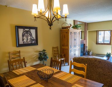 Photo for Wolf Den Condo - Spacious 2 Bedroom with Mountain View. Best location in Breck!