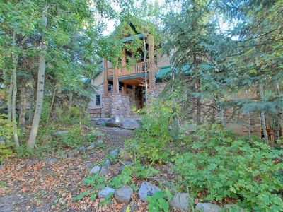 Photo for Luxury Mountain Home. 6 Bedrooms, 5.5 Bath. Theater, Hot Tub, Steam Rm, Sauna