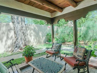 Photo for Cowboy On The Acequia, 2 Bedrooms, Sleeps 4, Fireplaces, Washer/Dryer