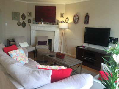 Photo for Large Bright 2 Bedroom w L Deck & One Free Parking  Near Beach, Golden Gate Park