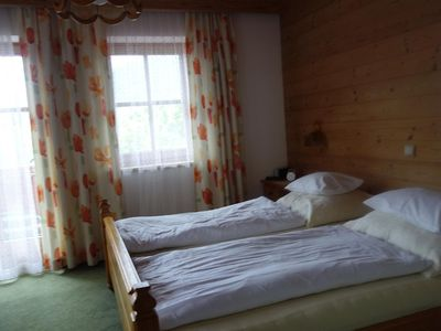 Photo for Double room, shower or bath, WC, south - Postfeld 606