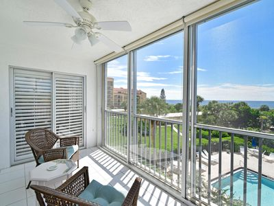 SEASONAL SPECIAL!! Gorgeous Gulf and Pool View No Streets between you & the Gulf