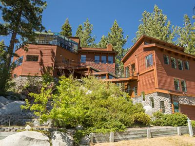 Photo for Beautiful, unique home in Stateline, close to lake and casinos, main and guest house: Tahoe Winds