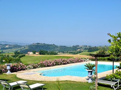 Photo for 4 bedroom Villa, sleeps 8 in San Martino a Maiano with Pool, Air Con and WiFi
